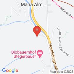 Mappa ALPENGASTHOF HOTEL ANNERLHOF