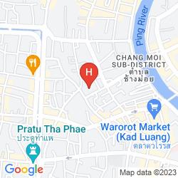 Mappa PRINCE HOTEL