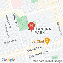 Mappa ALEXANDRA HOTEL