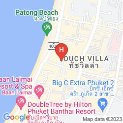 Mappa TROPICA BUNGALOW HOTEL
