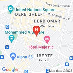 Mappa PRINCE DE PARIS