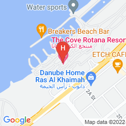 Mappa THE COVE ROTANA RESORT - RAS AL KHAIMAH