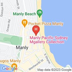 Mappa NOVOTEL SYDNEY MANLY PACIFIC
