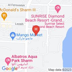 Mappa GRAND SHARM RESORT