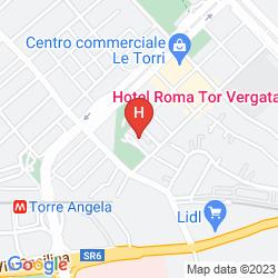 Mappa ROMA TOR VERGATA