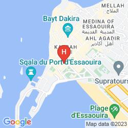 Mappa VILLA MAROC