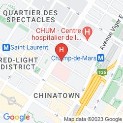 Mappa LE 1 RENE LEVESQUE
