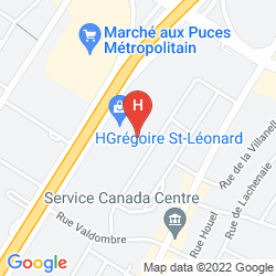 Mappa MOTEL LIDO
