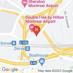 Mappa MARRIOTT FAIRFIELD INN & SUITES MONTREAL AIRPORT