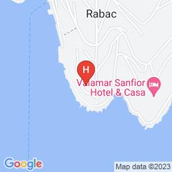 Mappa HOTEL MARINA RABAC
