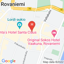 Mappa SANTA'S HOTEL SANTA CLAUS