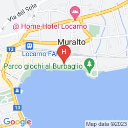 Mappa LA PALMA AU LAC
