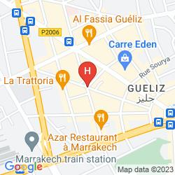 Mappa BAB HOTEL