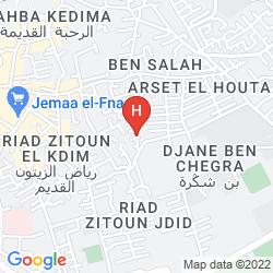Mappa RIAD AL KARAMA