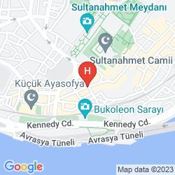 Mappa SUNRISE HOTEL ISTANBUL