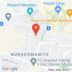 Mappa NILES ISTANBUL