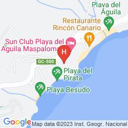 Mappa APARTAMENTOS TAMARAN