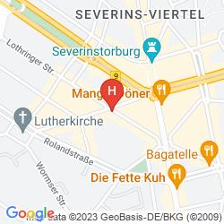 Mappa AM CHLODWIGPLATZ