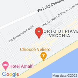 Mappa HOTEL DOMINGO