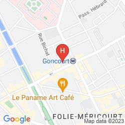 Mappa LE MAREUIL