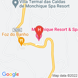 Mappa MACDONALD MONCHIQUE RESORT & SPA
