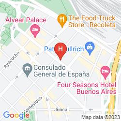 Mappa PALACIO DUHAU PARK HYATT BUENOS AIRES