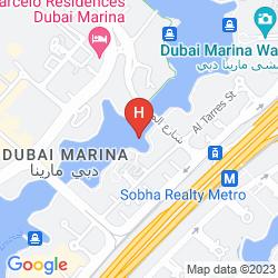 Mappa NURAN MARINA SERVICED RESIDENCES