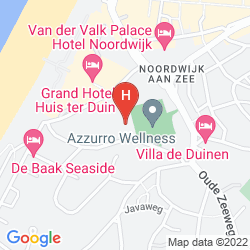 Mappa HOTEL HOGERHUYS