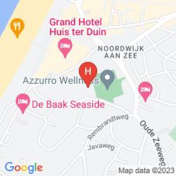Mappa HOTEL RESTAURANT LEKKER