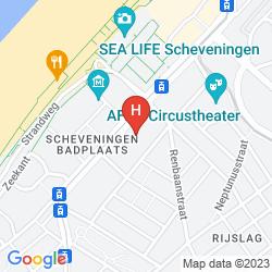 Mappa HOTEL ALBION