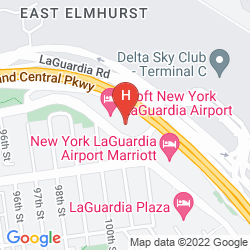 Mappa ALOFT NEW YORK LAGUARDIA AIRPORT