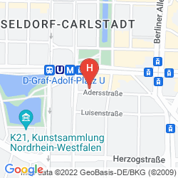 Mappa THE FRITZ DÜSSELDORF