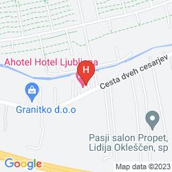 Mappa AHOTEL