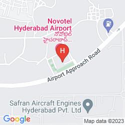 Mappa NOVOTEL HYDERABAD AIRPORT