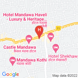 Mappa MANDAWA HAVELI