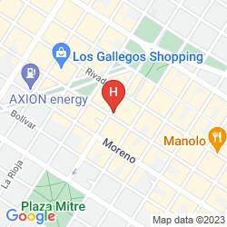Mappa CORBEL SUPERIOR