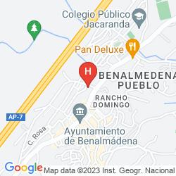 Mappa APARTAMENTOS LA HACIENDA