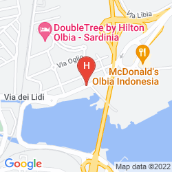 Mappa DOUBLETREE BY HILTON OLBIA