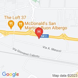 Mappa BEST WESTERN HOTEL TURISMO