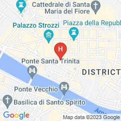 Mappa NH COLLECTION FIRENZE PORTA ROSSA