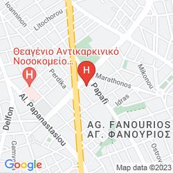 Mappa HYATT REGENCY THESSALONIKI