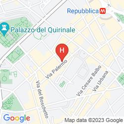 Mappa BOUTIQUE HOTEL GALATEA