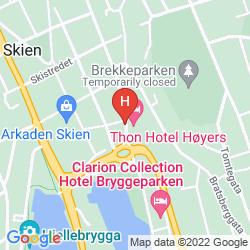 Mappa THONH HOTEL HOYERS
