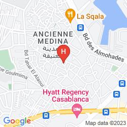 Mappa HOTEL CENTRAL