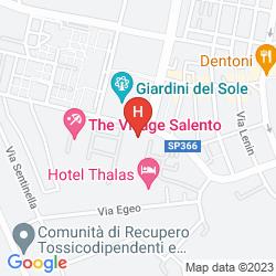 Mappa THÀLAS CLUB