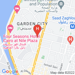 Mappa NEW GARDEN PALACE