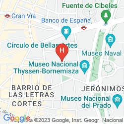 Mappa HOSTAL OLGA