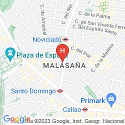 Mappa HOSTAL RIAS BAJAS
