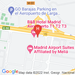 Mappa CROWNE PLAZA MADRID AIRPORT