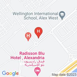 Mappa RADISSON BLU ALEXANDRIA